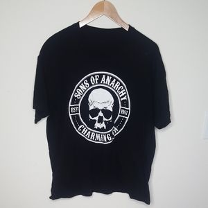 5/$20 Sons of Anarchy Black Graphic Tee Shirt